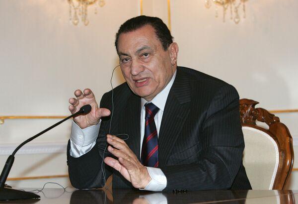 Hosni Mubarak - Sputnik Mundo