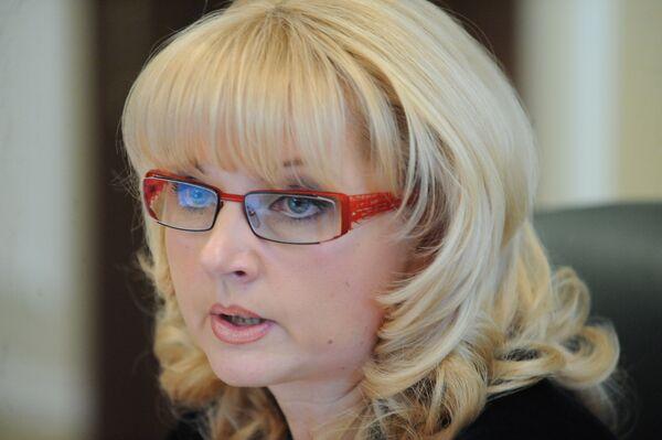 La Ministra de Sanidad y Desarrollo Social de Rusia, Tatiana Gólikova - Sputnik Mundo