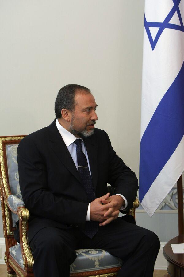 El ministro de Asuntos Exteriores de Israel, Avigdor Lieberman - Sputnik Mundo