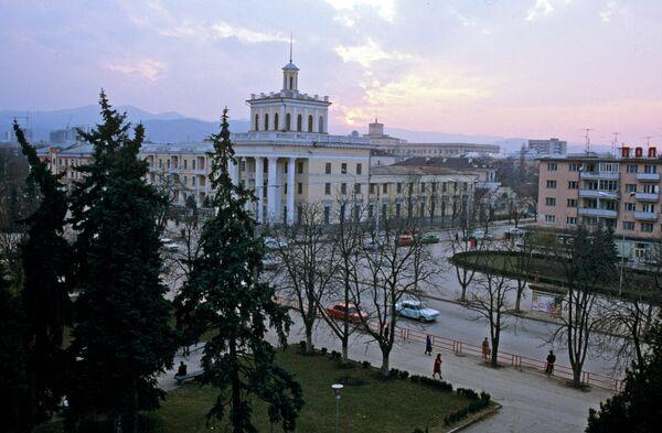 Nálchik, capital de la república caucasiana rusa de Kabardino-Balkaria. Archivo - Sputnik Mundo