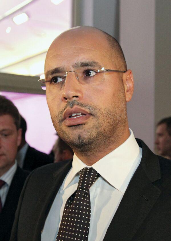 El hijo del líder libio Saíf al Islam - Sputnik Mundo