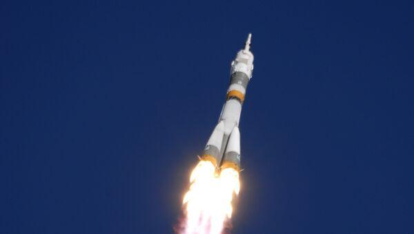 El lanzamiento del cohete Soyuz FG (archivo) - Sputnik Mundo