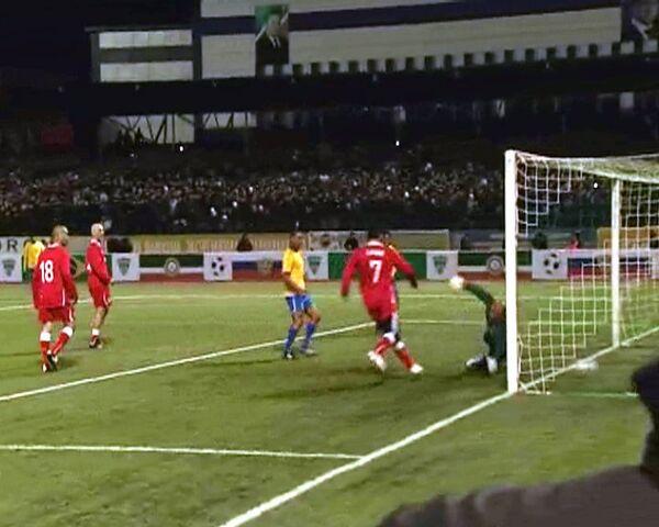 Líder de Chechenia marca dos goles y baila durante partido con Brasil - Sputnik Mundo