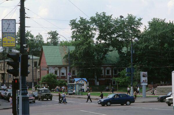 La calle Ostózhenka de Moscú - Sputnik Mundo