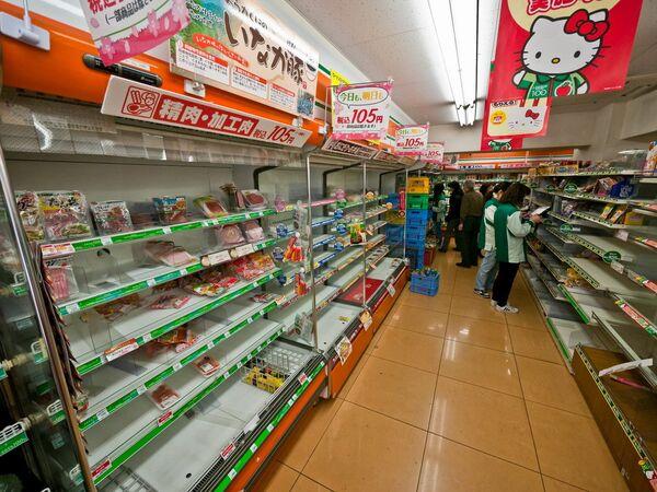 Víveres se agotan al instante en tiendas de Tokio - Sputnik Mundo