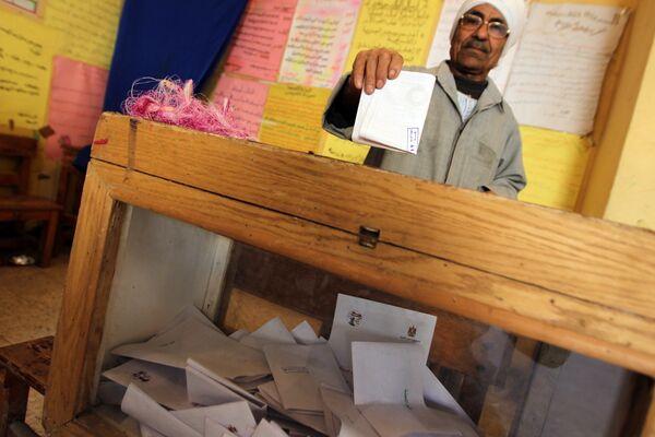Egipto votó a favor de cambios en la Constitución, según datos preliminares - Sputnik Mundo