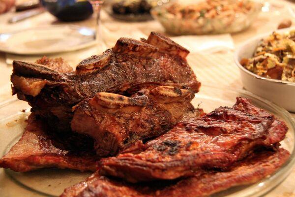 Abstención de la carne permitiría reducir un 30% los gases de efecto invernadero - Sputnik Mundo
