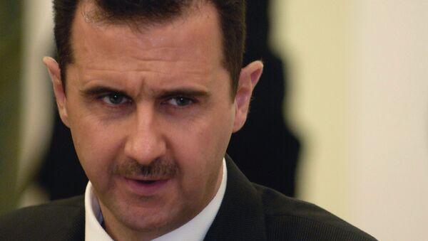 Presidente de Siria, Bashar Asad - Sputnik Mundo