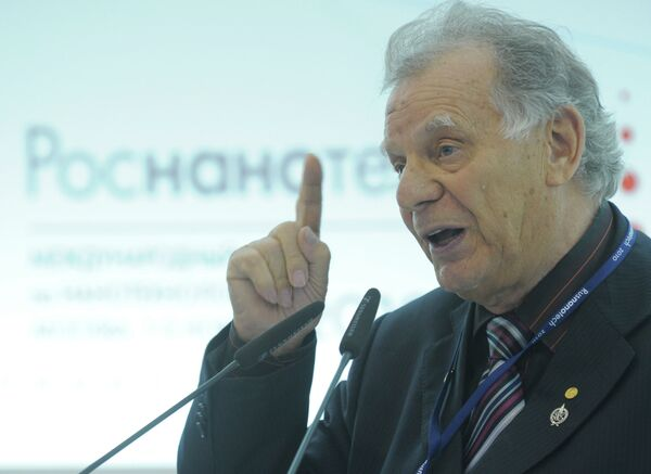 El académico ruso Zhorés Alfiórov - Sputnik Mundo