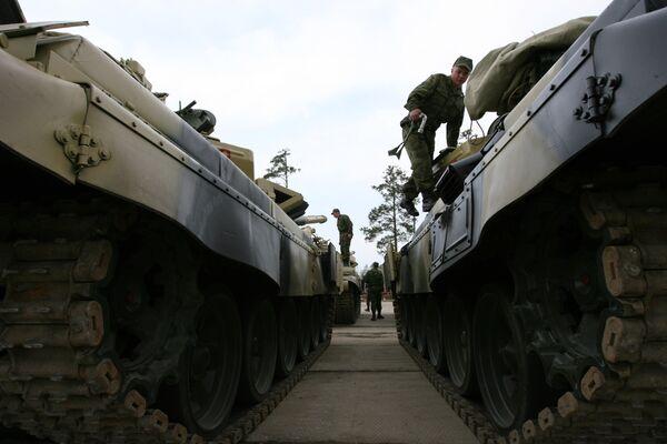 Tanques Т-72 - Sputnik Mundo