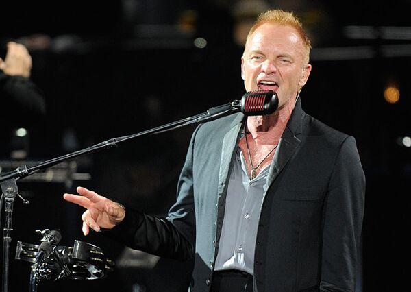 El cantante británico Sting - Sputnik Mundo