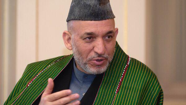 Hamid Karzai - Sputnik Mundo