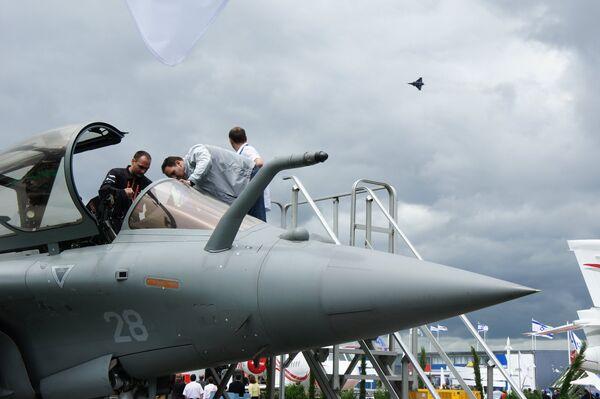 Primera jornada del Salón Aeronáutico de Le Bourget - Sputnik Mundo