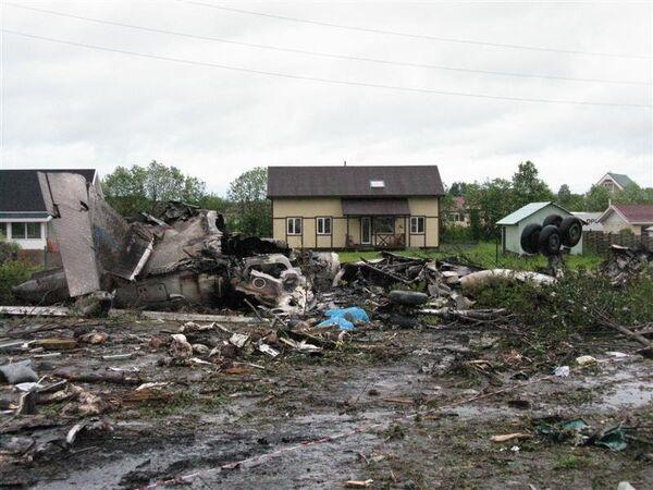 Accidente aéreo en el noroeste de Rusia - Sputnik Mundo