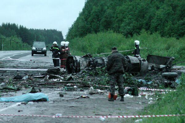 El accidente del Tu-134 - Sputnik Mundo