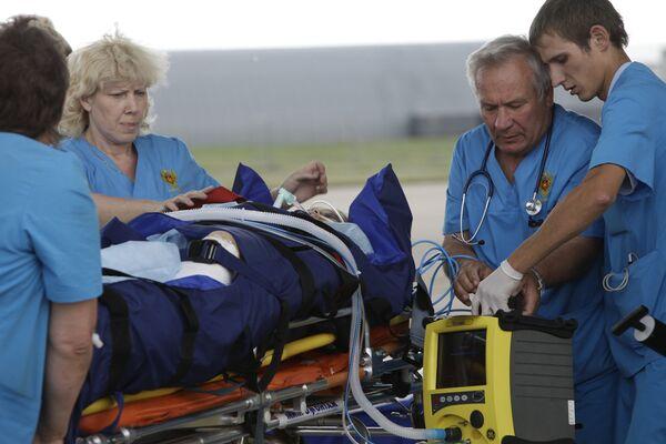 Cinco heridos en el accidente aéreo en Karelia transportados a Moscú - Sputnik Mundo