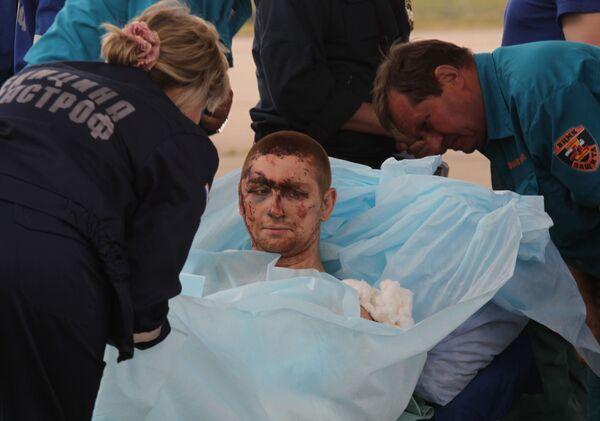 Heridos en el accidente aéreo en el noroeste de Rusia llegan a Moscú - Sputnik Mundo
