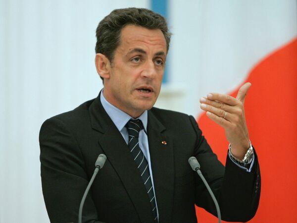 Nicolás Sarkozy - Sputnik Mundo