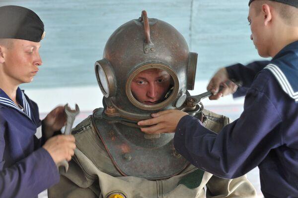 Ejercicios navales de la Flota rusa del mar Negro en Sebastópol - Sputnik Mundo
