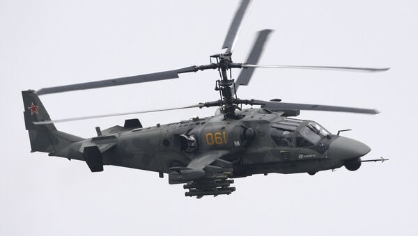El helicóptero de combate  Ka-52 Alligator - Sputnik Mundo