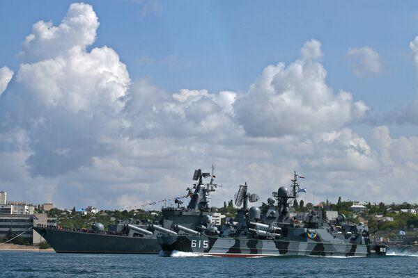 Flota rusa del mar Negro - Sputnik Mundo