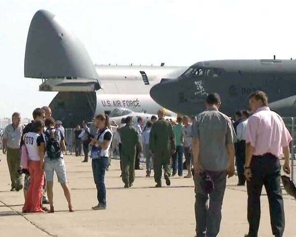 MAKS-2011:del avión gigante C-5M Galaxy al cañón antiaéreo inteligente - Sputnik Mundo