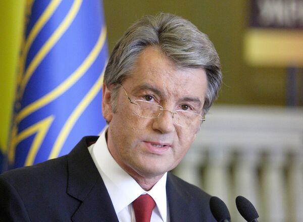 El ex presidente de Ucrania, Víctor Yúschenko - Sputnik Mundo
