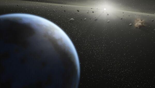 Asteroide que mató a dinosaurios eyectó microbios terrestres a otros planetas según estudio - Sputnik Mundo