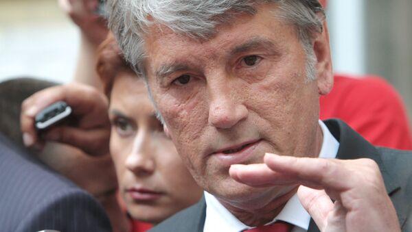 Víctor Yúschenko, el ex-presidente de Ucrania - Sputnik Mundo