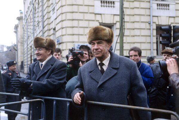 El ex ministro de Defensa de la URSS Dmitri Yázov  - Sputnik Mundo