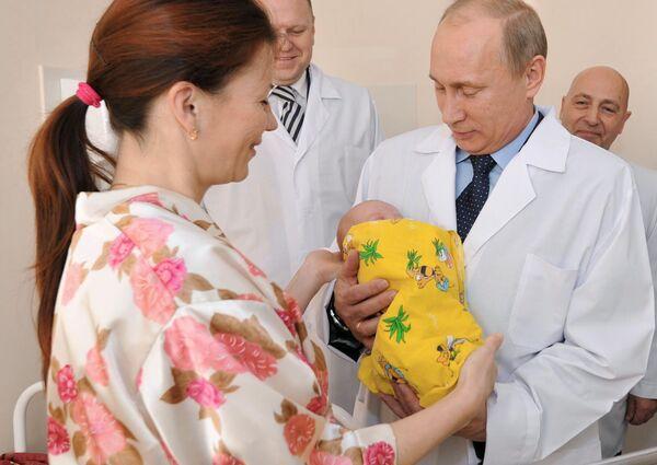 Putin visita al habitante 7.000 millones de la Tierra - Sputnik Mundo