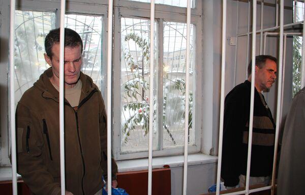 El tribunal tayiko condenó al piloto ruso Vladímir Sadóvnichi y al estoniano Alexéi Rudenko a 8,5 años de cárcel - Sputnik Mundo