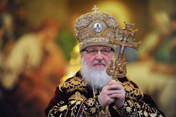 El máximo jerarca de la Iglesia Ortodoxa Rusa, patriarca Kiril - Sputnik Mundo