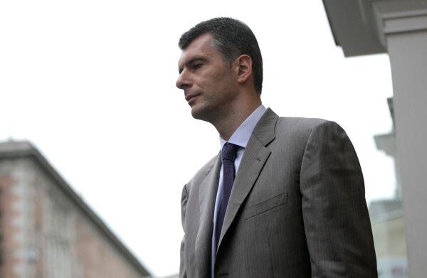 Mijaíl Prójorov - Sputnik Mundo