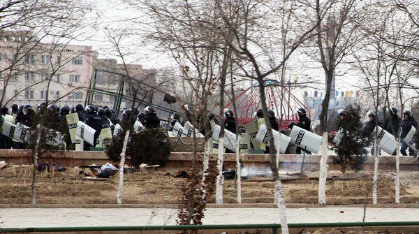 Disturbios en Kazajstán - Sputnik Mundo