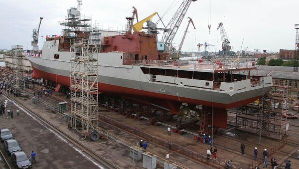 Construcción de la fragata del proyecto 11356 - Sputnik Mundo