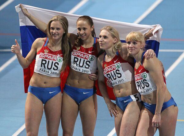 Los triunfos más sonados de atletas rusos en 2011 - Sputnik Mundo