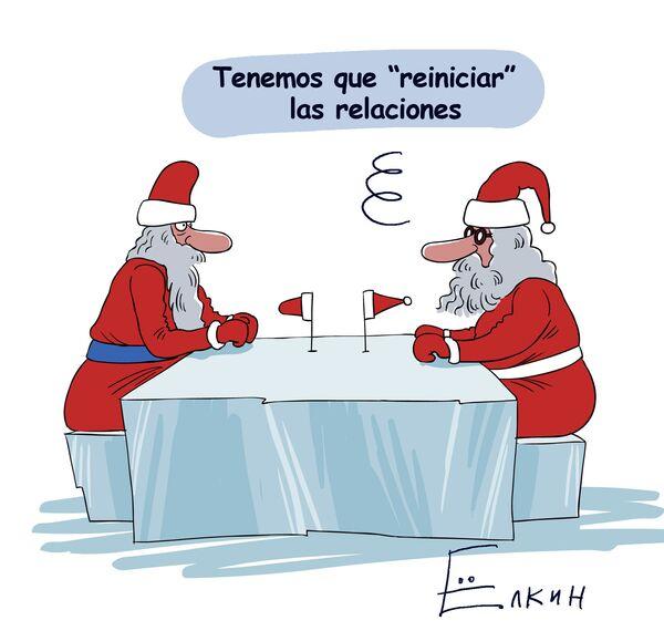 Papá Noel y Santa Claus. Reinicio de relaciones - Sputnik Mundo