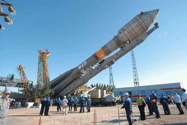 Soyuz-2.1.a con seis satélites de comunicaciones estadounidenses Globalstar-2 - Sputnik Mundo