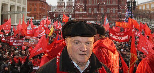 Guennadi Ziugánov - Sputnik Mundo