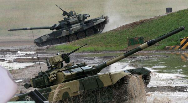 Tanque T-90 - Sputnik Mundo