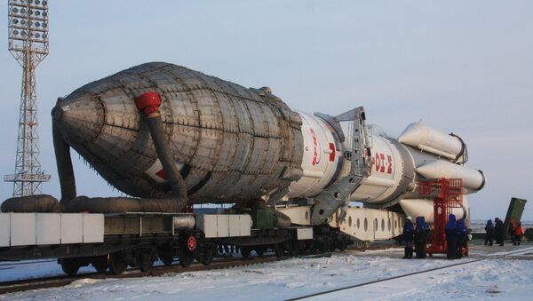 Cohete Protón-M (Archivo) - Sputnik Mundo