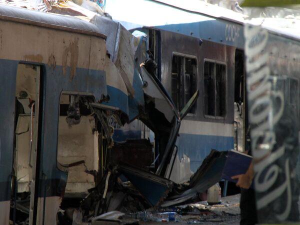 Ya son 49 víctimas confirmadas de tragedia ferroviaria en Argentina - Sputnik Mundo