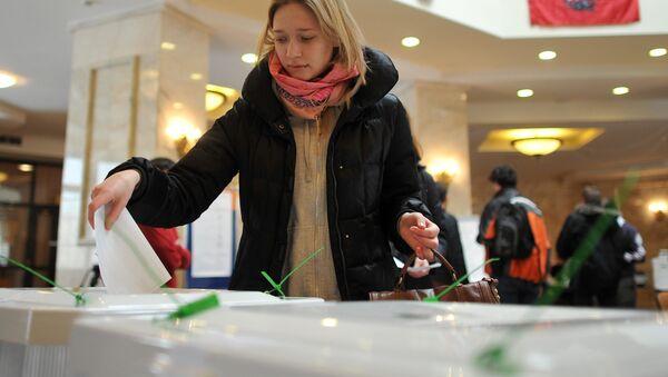 Выборы президента РФ в Москве - Sputnik Mundo