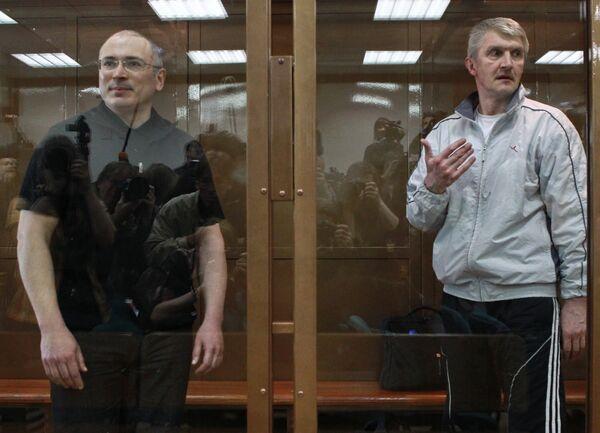 Mijaíl Jodorkovski y Platón Lébedev - Sputnik Mundo