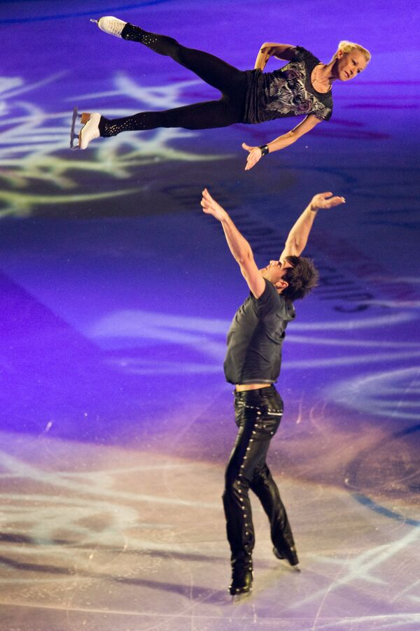 Los mejores momentos de la gala de exhibición del mundial de patinaje artístico - Sputnik Mundo