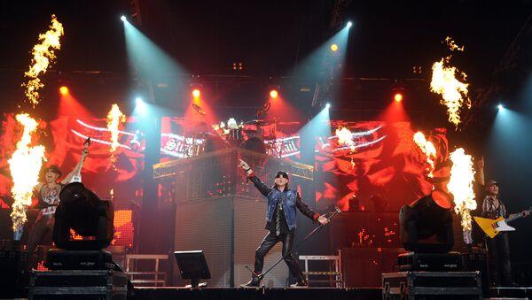 La banda alemán Scorpions se despide de sus admiradores en Moscú - Sputnik Mundo