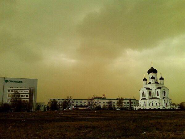 Nubes verdes causan desconcierto en Moscú y ciudades vecinas - Sputnik Mundo