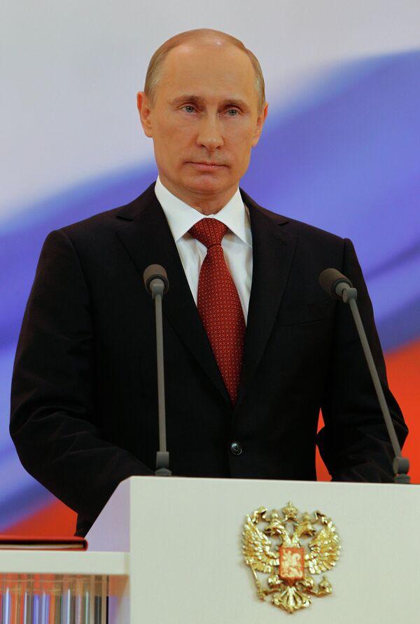 Ceremonia de investidura de Vladímir Putin - Sputnik Mundo