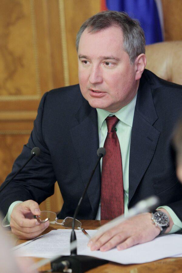 Viceprimer ministro Dmitri Rogozin - Sputnik Mundo